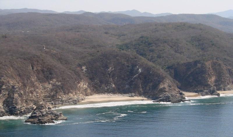 Playas Of Oaxaca Punta Cometa