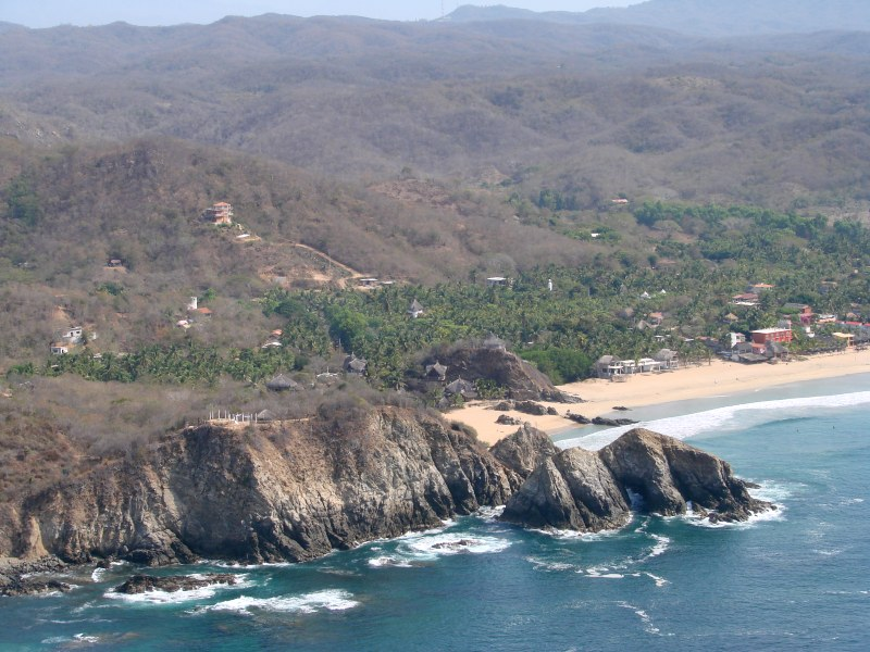 Playas of Oaxaca Zipolite