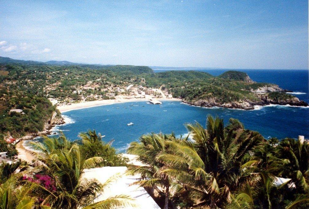 Zipolite Beach in Puerto Ángel Oaxaca is popular with